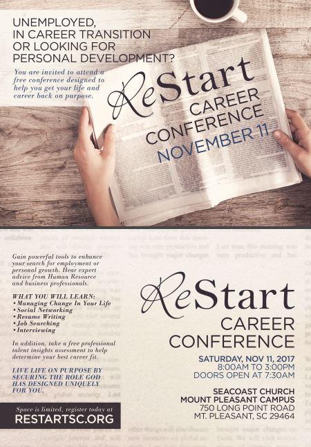 Nov 2017 ReStart SC Career Conference